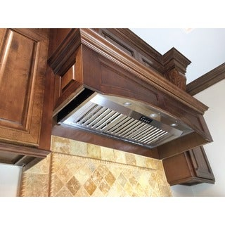 KOBE Premium IN-026 Series, 36-inch All-In-One, Built-In Range Hood, 1200 CFM, Dual Blower, Baffle Filte