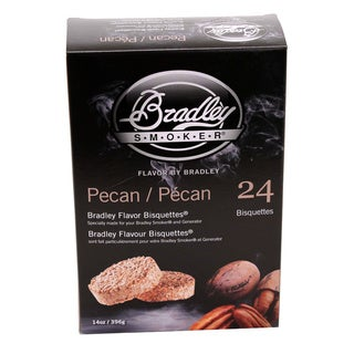 Bradley Smokers Pecan Smoker Bisquettes (Pack of 24)