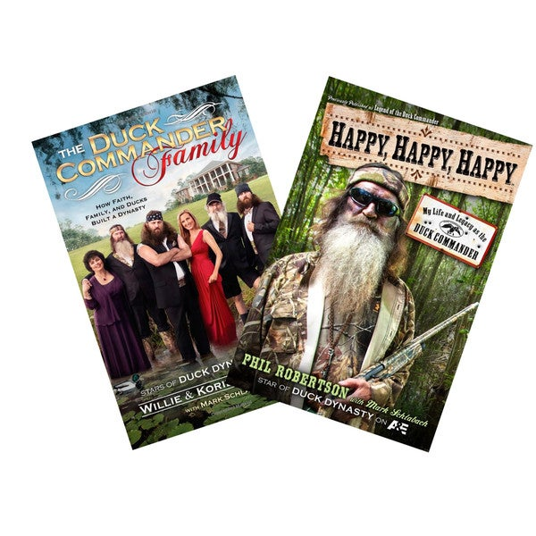 The Duck Commander Family and Happy Happy Happy Books