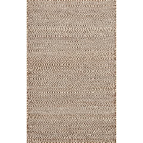 Alexander Home Hand-loomed Geometric 100% Wool Rug