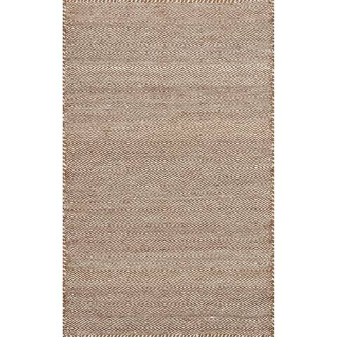 Alexander Home Hand-loomed Geometric 100% Wool Rug