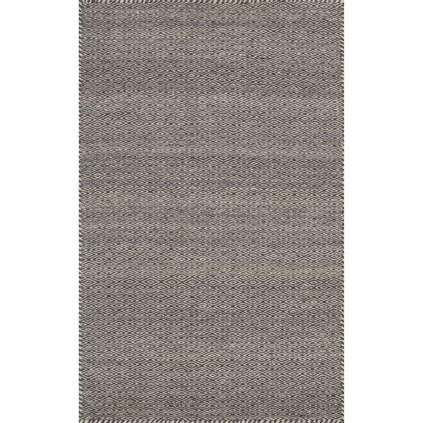 Alexander Home Hand-loomed Geometric 100% Wool Rug. Opens flyout.