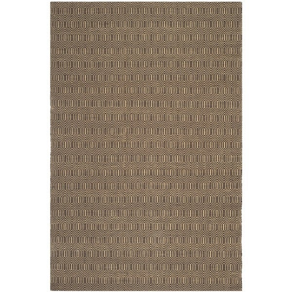 Safavieh Hand-woven South Hampton Brown Polyester Rug - 7'6 x 9'6