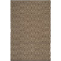 Safavieh Hand-woven South Hampton Brown Polyester Rug - 8'9 x 12'