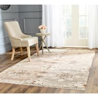 Safavieh Hand-woven Natural Kilim Grey Wool Rug - 8' x 10'