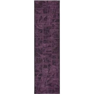 Safavieh Palazzo Black/ Purple Polypropylene/ Over