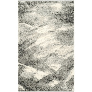 Safavieh Retro Modern Abstract Grey/ Ivory Rug (2'6 x 4')