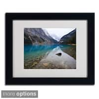 Pierre Leclerc 'Lake Louise' Framed Matted Art