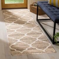 Safavieh Handmade Natural Kilim Renelde Wool Rug