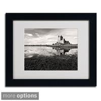 Pierre Leclerc 'Irish Castle' Framed Matted Art