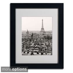 Pierre Leclerc 'Paris' Framed Matted Art