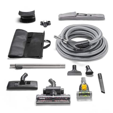 Quiet Deluxe Central Vacuum Kit