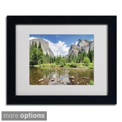 Pierre Leclerc 'Yosemite' Framed Matted Art