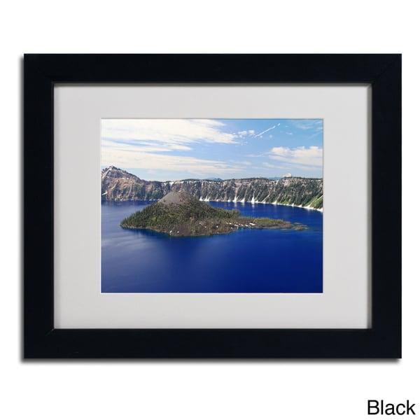 Pierre Leclerc Wizard Island Framed Matted Art Free