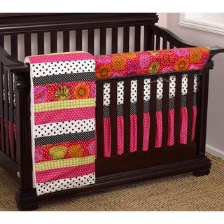 Cotton Tale Tula Crib Rail 4-piece Crib Bedding Set