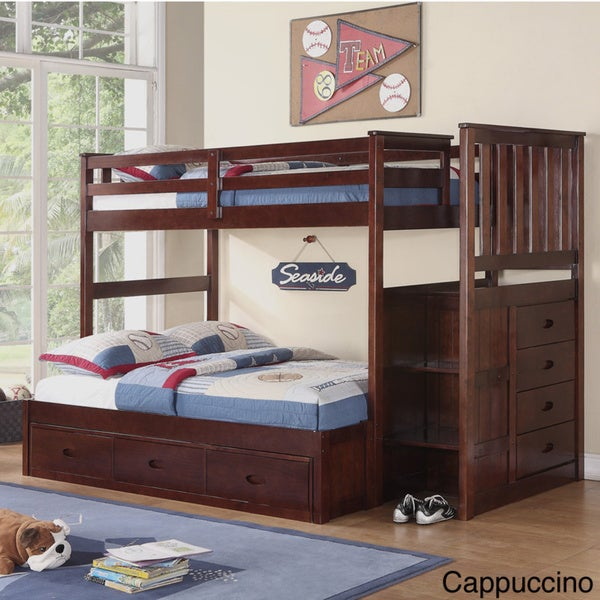 Pine Twin/ Full Bunk Bed