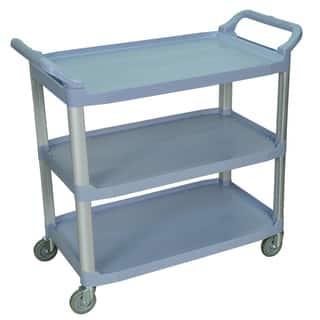 Grey 3-shelf Serving Cart SC13-G|https://ak1.ostkcdn.com/images/products/8260556/8260556/Grey-3-shelf-Serving-Cart-SC13-G-P15584897.jpg?impolicy=medium