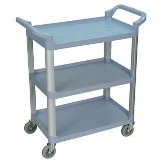 Grey 3-shelf Serving Cart SC12-G|https://ak1.ostkcdn.com/images/products/8260561/8260561/Grey-3-shelf-Serving-Cart-SC12-G-P15584896.jpg?impolicy=medium