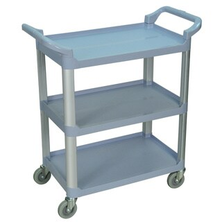 Grey 3-shelf Serving Cart SC12-G