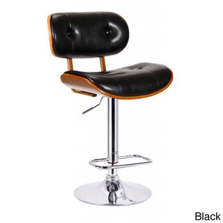 Smuk Bentwood Adjustable Swivel Stool
