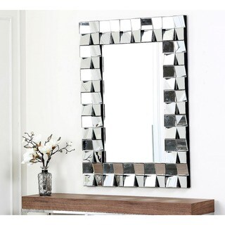 Abbyson Living Isabella Rectangle Wall Mirror