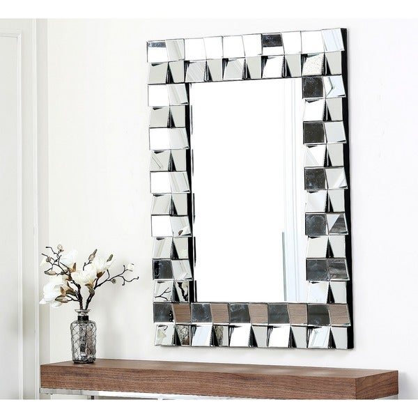 Abbyson Living Isabella Rectangle Wall Mirror Free