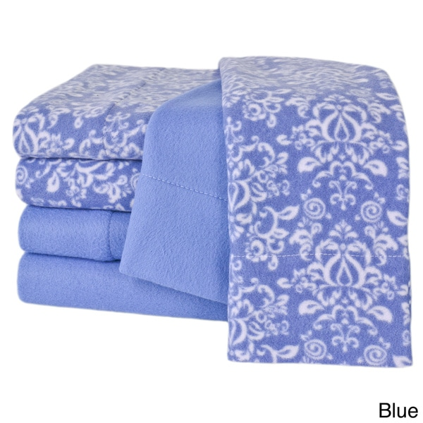cozee nights microfleece 6piece sheet set free shipping on orders over 45 - Microfleece Sheets