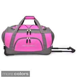 Pacific Gear by Traveler's Choice 20-inch Carry-on Rolling Upright Duffel Bag
