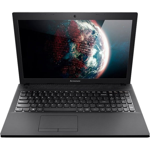 """Lenovo Essential 15.6"""" LED Notebook - AMD E-Series E1-2100 1 GHz - Bl"""
