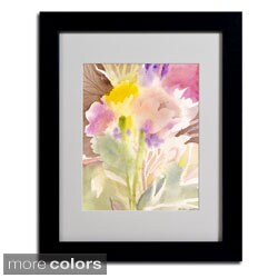 Sheila Golden 'Garden Memory' Framed Matted Art