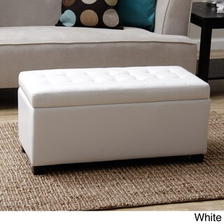 Warehouse of Tiffany Malm Storage Bench (Option: White)