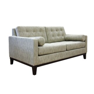 Centennial Button-tufted Chenille Loveseat
