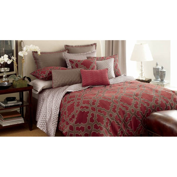 Candice Olson Maze 4 Piece Luxury Comforter Set Free