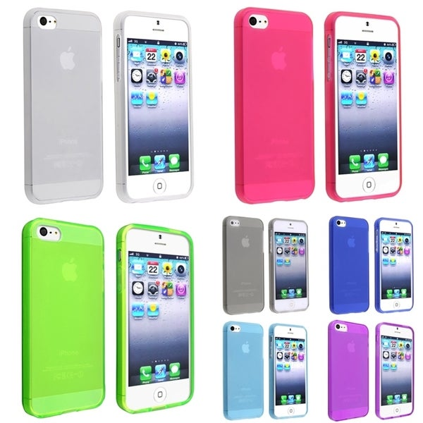 BasAcc 7-case Set for Apple iPhone 5/ 5S