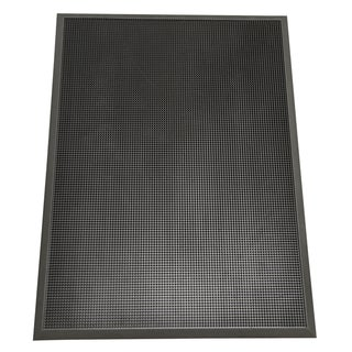Rubber-Cal Door Scraper Commercial Doormats Black Outdoor Rubber Door Mats