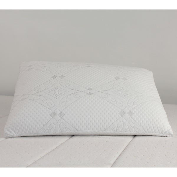 High Density Solid Memory Foam Pillow Free Shipping On