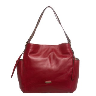 Burberry 3886072 Small Leather Canterbury Tote