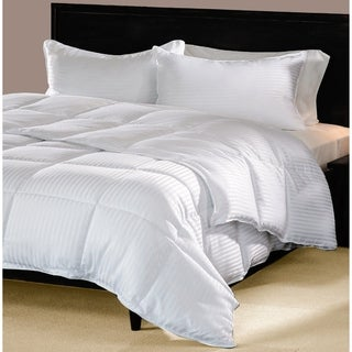 Superior All-season Stripe Down Alternative Hypoallergenic Comforter (3 options available)