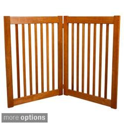 Highlander 32-inch 2-panel Free Standing EZ Pet Gate