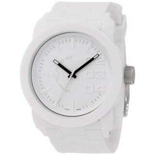 Diesel Men's DZ1436 White Silicone Quartz Watch with White Dial|https://ak1.ostkcdn.com/images/products/8262312/8262312/Diesel-Mens-DZ1436-White-Silicone-Quartz-Watch-with-White-Dial-P15586243.jpg?_ostk_perf_=percv&impolicy=medium