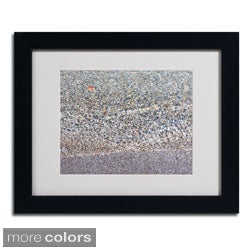Kurt Shaffer 'Lakeshore Abstract' Framed Matted Art