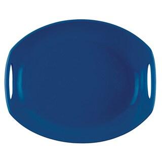 Dansk Classic Fjord Nordic Blue Serving Platter