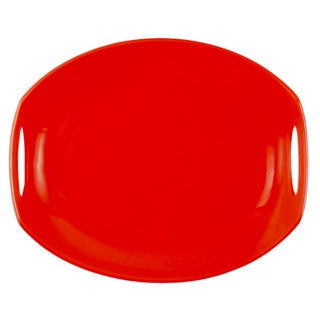 Dansk Classic Fjord Chili Red Serving Platter