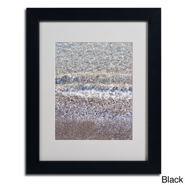 Kurt Shaffer 'Lakeshore Abstract 2' Framed Matted Art