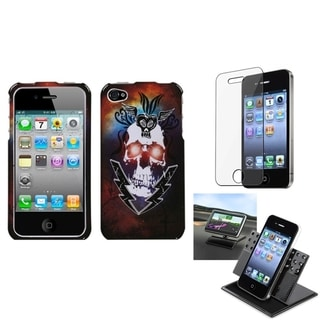 INSTEN Car Dashboard Holder/ Screen Protecto for Apple iPhone 4/ 4S