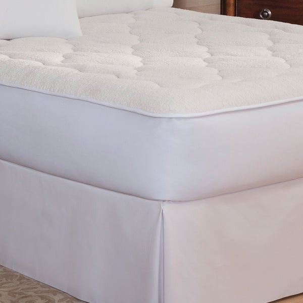 Rest Remedy Sherpa Reversible All Season Mattress Pad