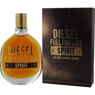 Diesel Fuel For Life Spirit Men's 2.5-ounce Eau de Toilette Spray