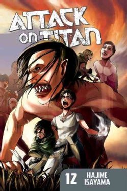 Attack on Titan 12 (Paperback)