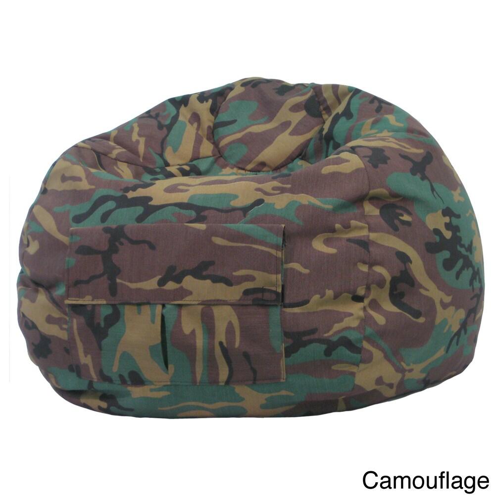 Gold Medal XXL Denim Look Bean Bag (Camoflauge), Size Jum...