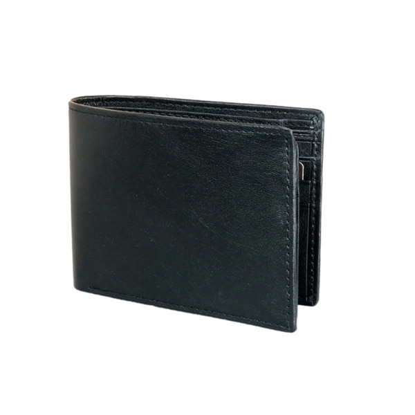 Joseph Abboud Men's Smooth Leather Passcase Wallet
